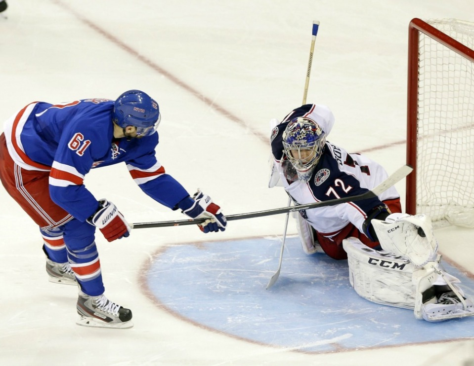 Blue Jackets 4-3 Rangers (SO) Recap
