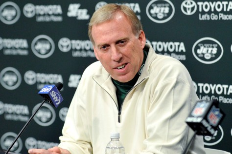 Jets GM John Itzik has a tough dilemma to face come draft day: Improve the offense or upgrade the defense. Photo courtesy of The NY Post.