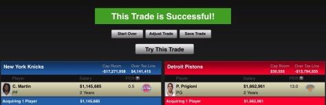 ESPN NBA Trade Machine