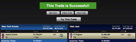 ESPN NBA Trade Machine