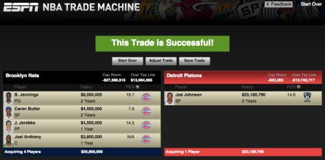 ESPN Trade Machine