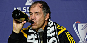 bruce arena drinking