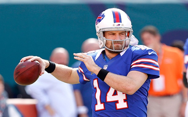 Fitzpatrick's best seasons came in the AFC East, with the Buffalo Bills (Getty Images)