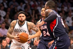 After a 35 point outburst, Deron Williams failed to make a difference in Game 5. (Getty Images)
