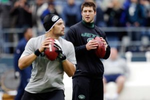 Could Mark Sanchez and Tim Tebow both face their former team? (Associated Press)