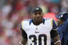 Zac Stacy requested a trade from the Rams after continuing to tumble down the depth chart. (Getty Images)