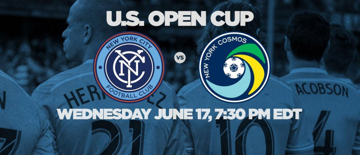 Giveaway: FREE Tickets to NYCFC vs. New York Cosmos